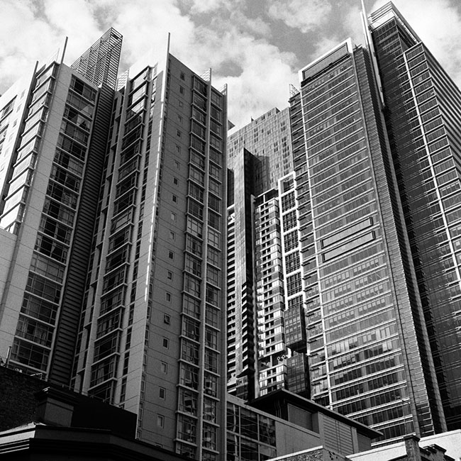 Sydney skyscrapers | Walzflex | Kodak Tri-X 400