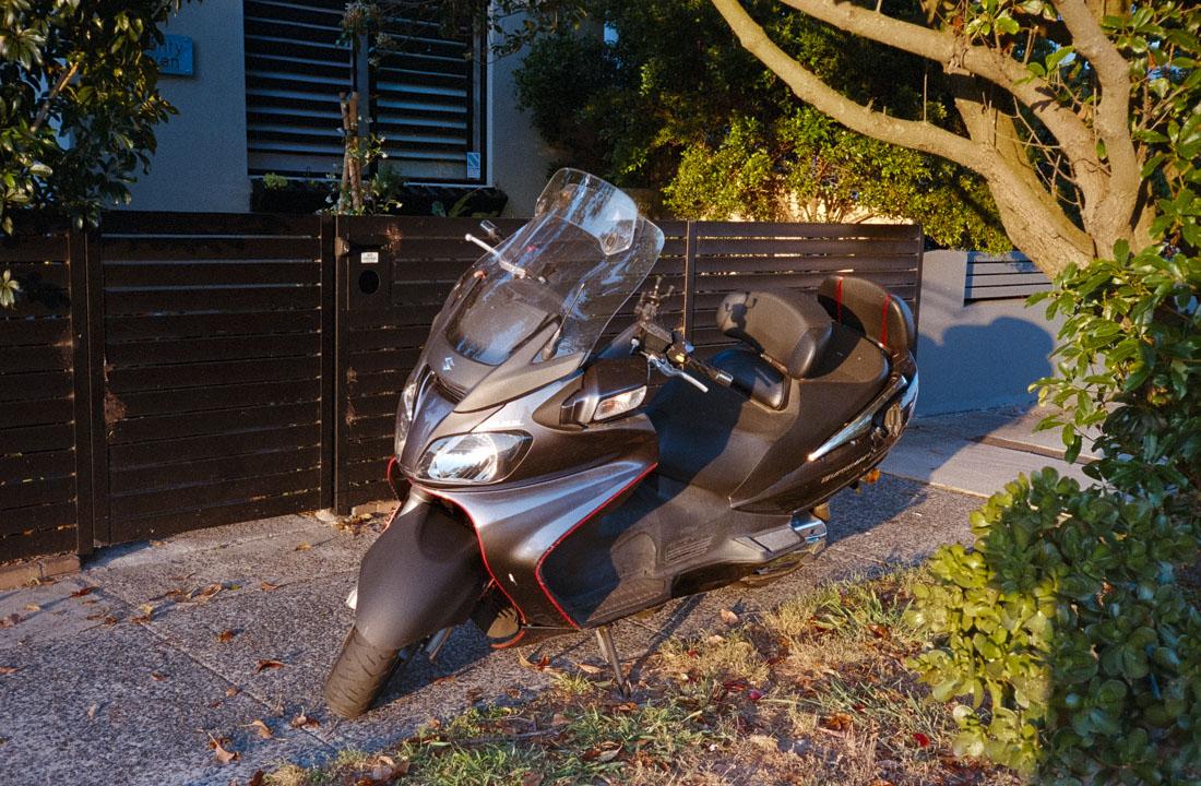 Motor scooter | Nikon RD2 | Kodak Ultramax 400