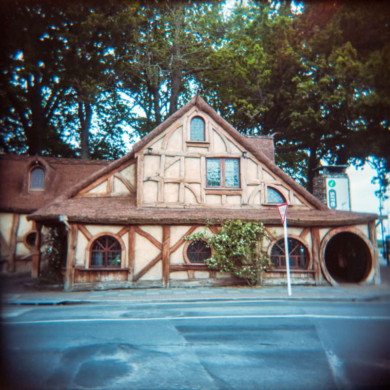 Hobbittown, New Zealand | Holga 120N | Kodak Portra 160 VC