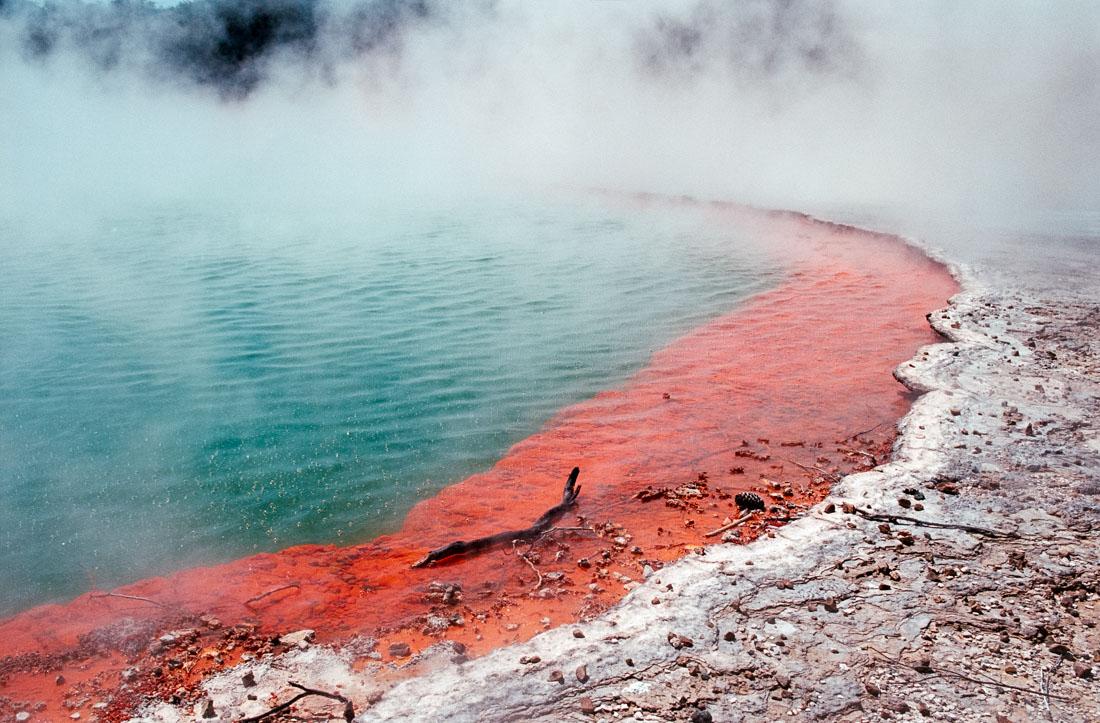 Wai-o-Tapu, Rotorua, NZ | Nikon F3 | Nikkor 20mm f/4 Ai | Kodak Ektar 100