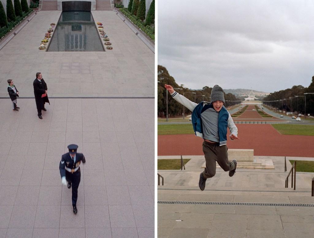 Australian War Memorial | Nikon F3 | L: Nikkor 28mm f/2.8 Ai R: Nikkor 50mm f/1.8 AF | Kodak Portra 400