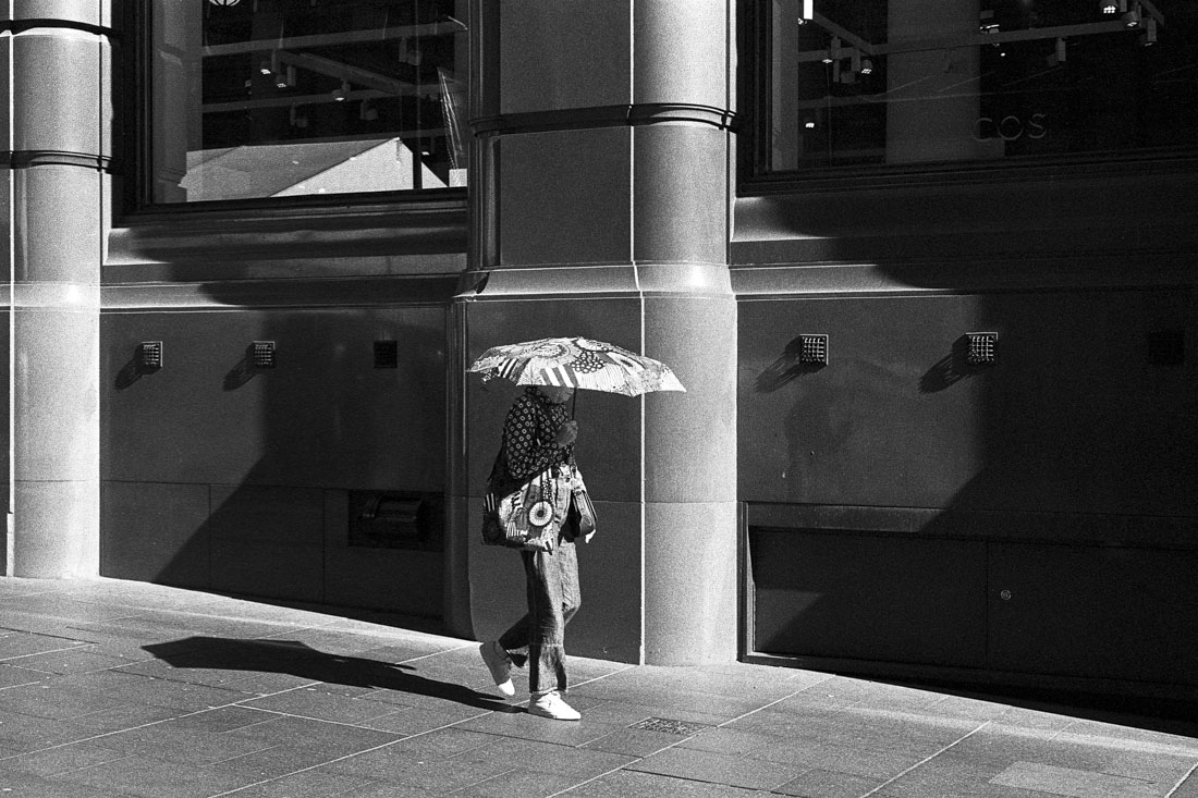 Sun umbrella | Leica M3 | Leitz Summicron 5cm f/2 DR | Ilford HP5 Plus