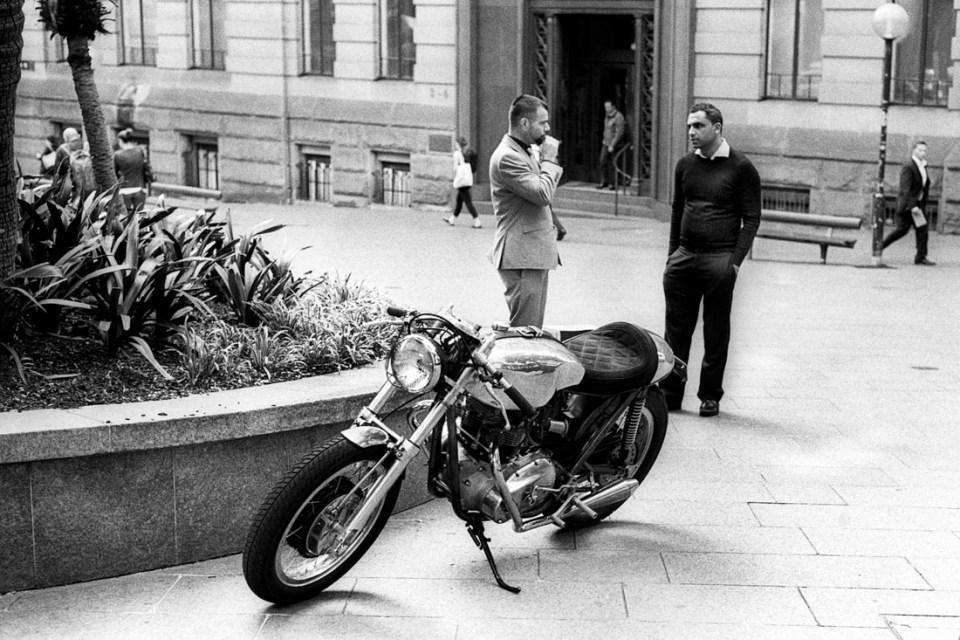 Motorbike sale | Leica M3 | Leitz Summicron 5cm f/2 DR | Ilford HP5 Plus