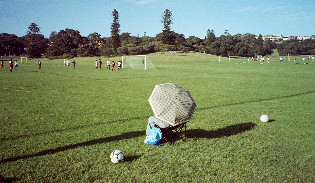 Watching football from the sidelines | Canon Elph 2 | Fujifilm Nexia A200 (expired)