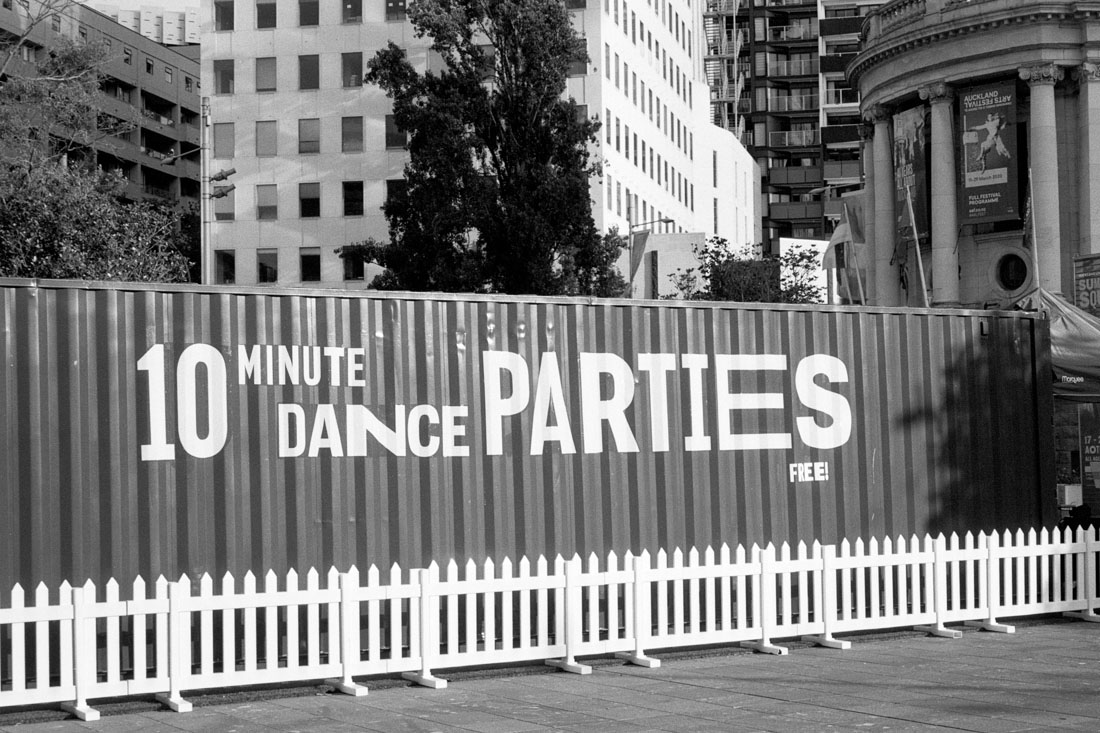 10 Minute Dance Parties | Pentax Espio 80V | Oriental Seagull 100