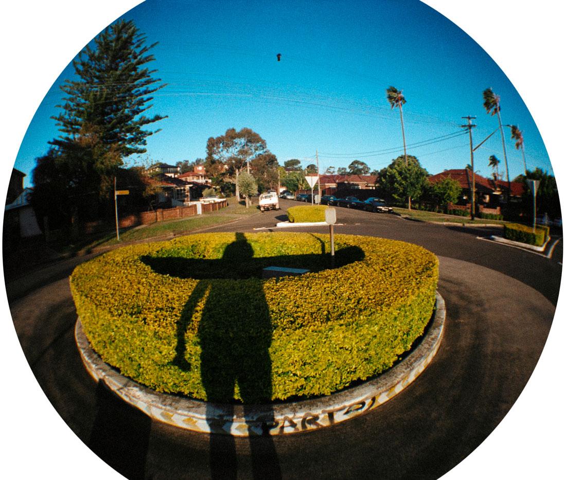 Shadow wings | Lomography Fisheye 2 | Kodak Pro Image 100