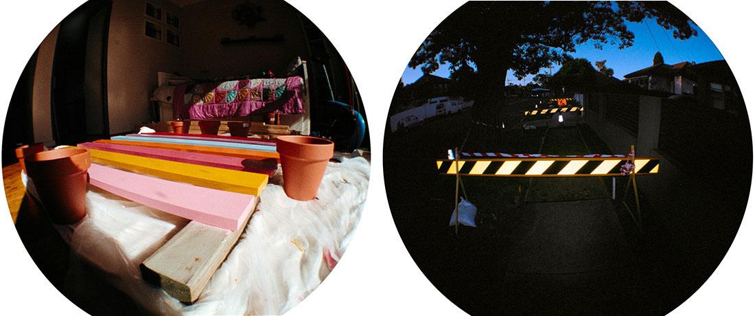 Home project, Construction | Lomography Fisheye 2 | Kodak Pro Image 100