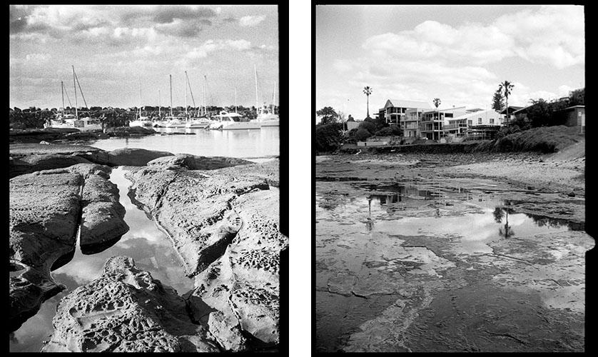 South Coast NSW | Agfa Optima-Parat | Ilford FP4 Plus