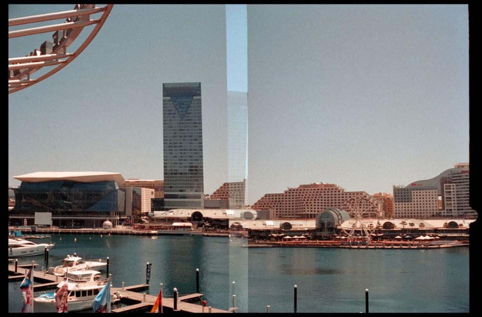 Darling Harbour (last frame overlap) | Agfa Optima-Parat | Kodak Portra 400