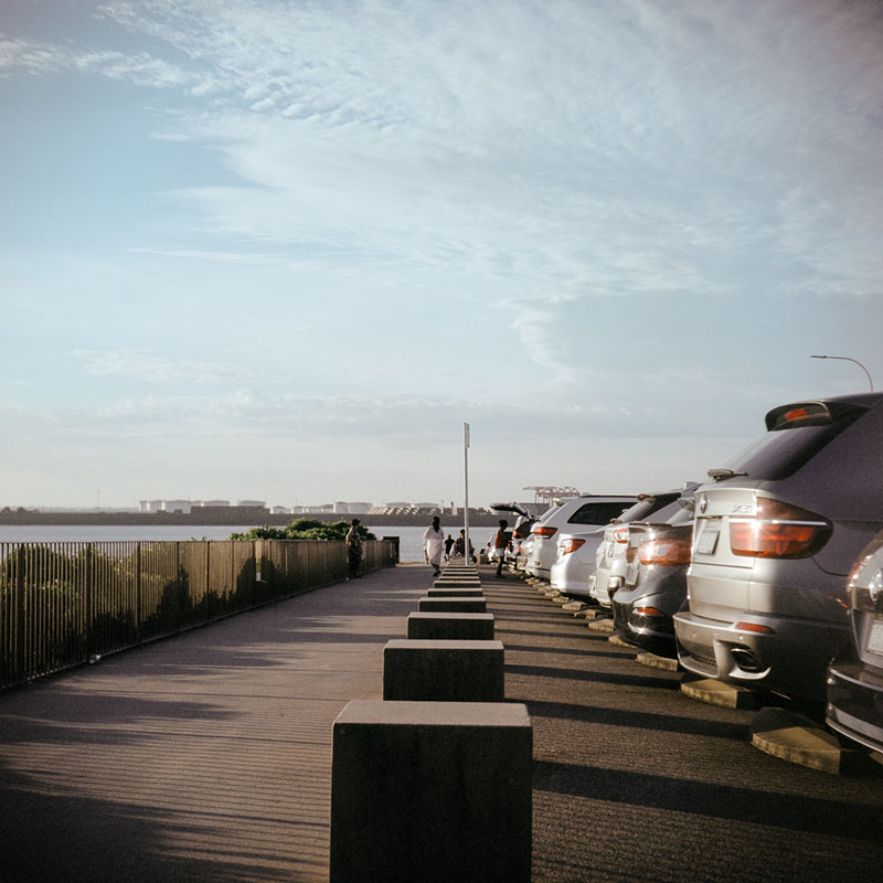 Pavilion/Parking | Bolseyflex | Kodak Portra VC 160 (expired)