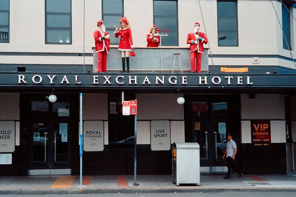 Christmas above | Leica M2 | Leica Summicron 50mm f/2 | Kodak Portra 400