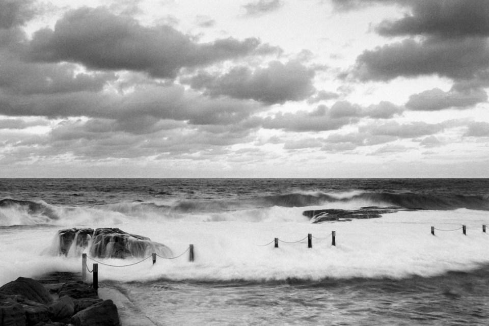 Maroubra Rock Pool | Nikon F100 | Nikkor 28-105 f/3.5-4.5 AF D | Kodak T-Max 100