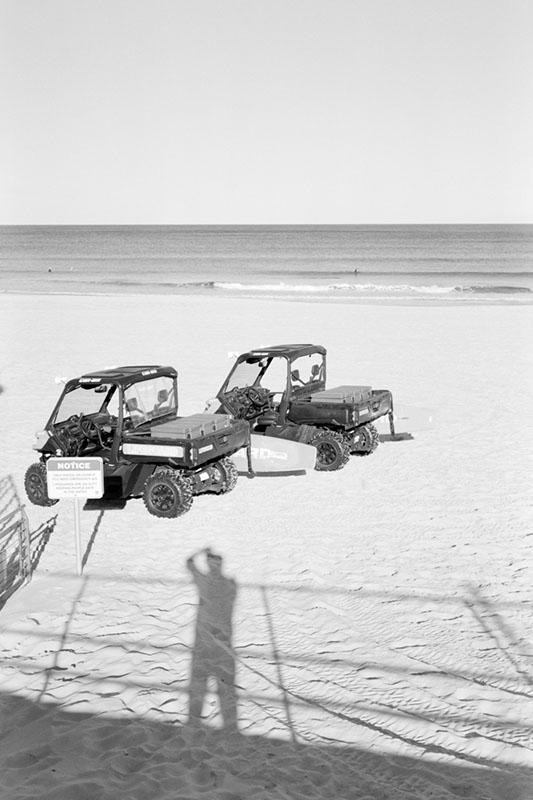 Shadow of a photographer | Mamiya Press Super 23 | Sekor 100mm 1:3.5 | Kodak Tri-X