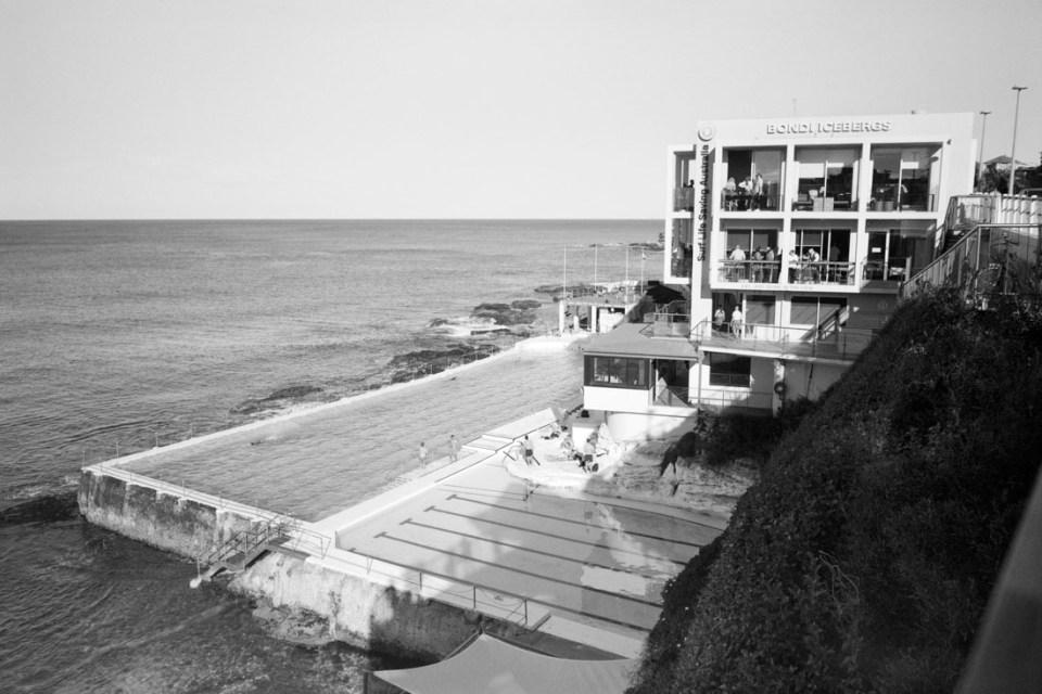 Bondi Icebergs | Mamiya Press Super 23 | Sekor Seikosha-S 65mm f/6.3 | Kodak Tri-X