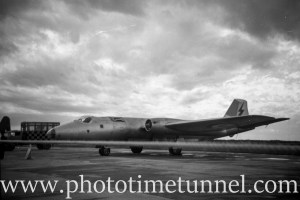 Canberra bomber at an air show at RAAF Williamtown fighter base, near Newcastle, NSW, in the early 1960s. (3)