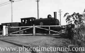 John Brown locomotive on the Hexham line, August 14, 1939.