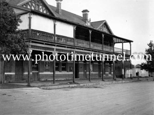 The Rock Hotel, The Rock, NSW c1950s.
