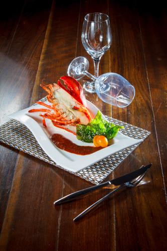 【開邊龍蝦西式海鮮料理】專業食物攝影師的圖片庫