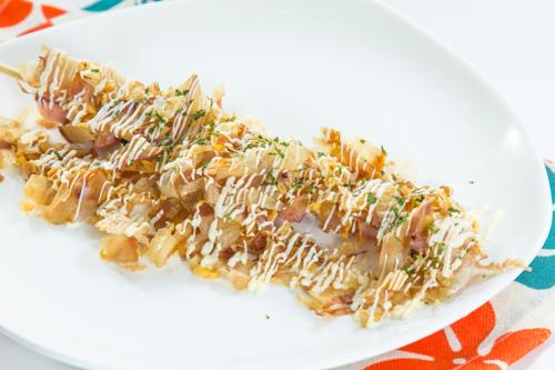 【日式木魚片魷魚串燒】大量美味畫像盡情用