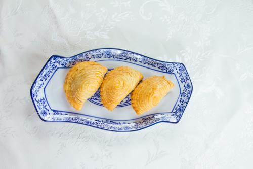 【三件傳統中式點心叉燒酥】可以下載的食物相