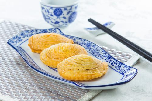 【三件傳統中式點心叉燒酥】大量美味畫像盡情用