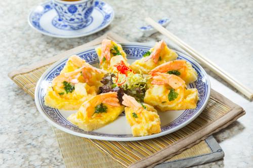 【惹味香口小食前菜酥炸蝦多士】可以下載的食物相
