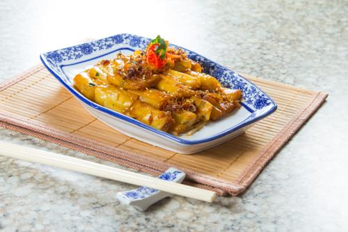【香口惹味小食xo醬炒腸粉】下載即用超方便餐牌相片