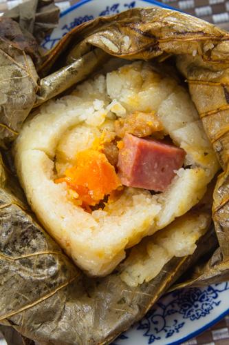 【有鹹蛋與金華火腿等超級足料點心糯米雞】下載即用超方便餐牌相片