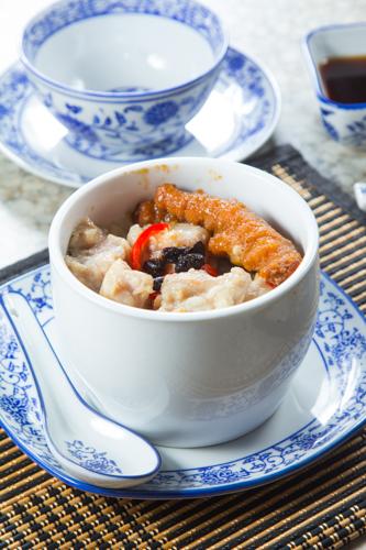 【港式早餐豉椒排骨鳳爪原盅蒸飯】比自己拍攝更便宜的食物相片方案