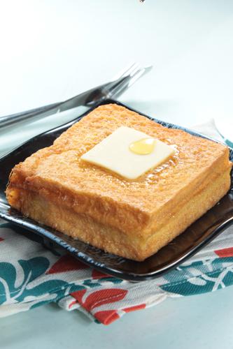【經典茶餐西多士配鮮油】下載即用超方便餐牌相片