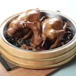【木盤雲耳豉油燜燒乳鴿】給餐館的好用素材