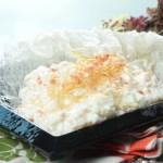 【仿真魚翅賽螃蟹炒蛋白】下載即用超方便餐牌相片