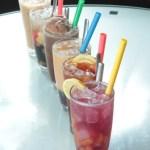 【一整排茶餐廳特色凍飲大合照】可以下載的食物相