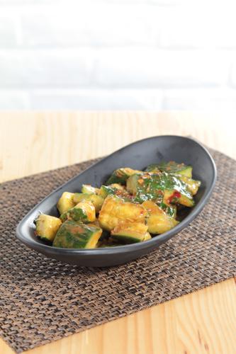 【辣麵豉醬涼拌青瓜餐前小食】可以下載的高像素高清食物相