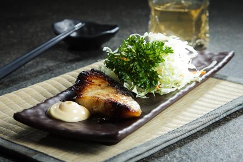 【地道和風燒物銀雪魚西京燒】專業食物攝影師拍攝的圖片庫