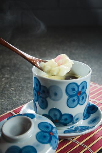 【用匙羹潷起日本料理店茶碗蒸蛋】大量美味價廉畫像盡情用