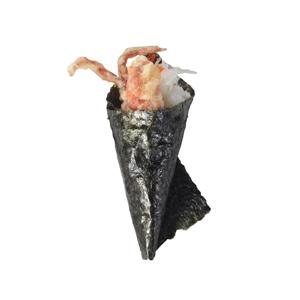 soft shell crab hand roll
