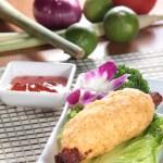 ベトナム風サトウキビに巻いて焼いた海老ペーストのスナック