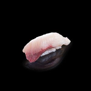 カンパチ寿司の切抜き画像・食べ物写真素材・商用ダウンロード可