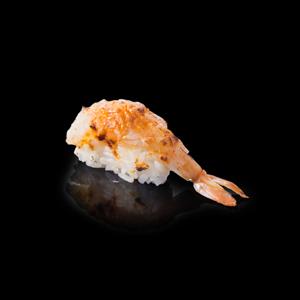 エビのたれ寿司の切抜き画像・食べ物写真素材・商用ダウンロード可