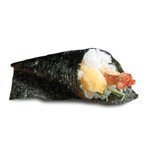 【蝦天婦羅手卷】雜誌級數但便宜到發笑的食物素材