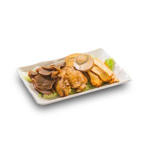 【滷雞腎豆腐雞蛋】飲食業專用退地無背景素材圖像