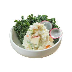土豆沙拉的去背退地食物素材相片