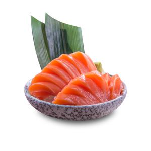 大盛鱒魚魚生的去背退地食物素材相片