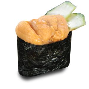 【海膽黃瓜軍艦壽司一件】全部真品拍攝一條龍後製加工相片