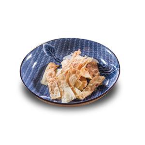 烤鱈魚乾的去背退地食物素材相片
