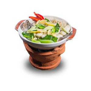 【全魚砂鍋】專業食物攝影師的餐牌設計用圖片庫