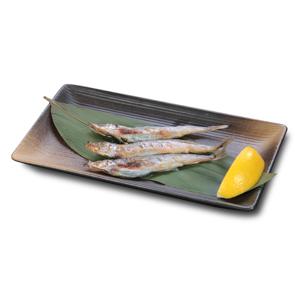 燒多春魚的去背退地食物素材相片