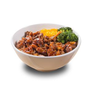 【醬油燒雞粒飯】可以下載已PHOTOSHOP去背的食物相