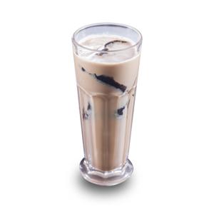 仙草果凍冰奶茶的去背退地食物素材相片